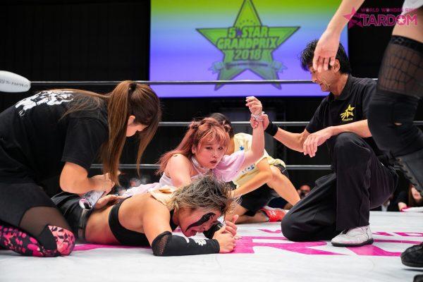 "Stardom:""5*Star GP 2018"" Mayu Iwatani es la vencedora 7"