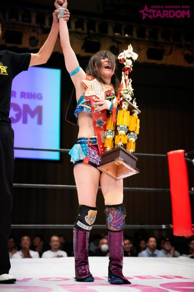 """Stardom: """"Best of Goddess 2019"""" Mayu Iwatani se corona 11"""