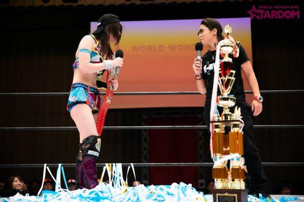 """Stardom: """"Best of Goddess 2019"""" Mayu Iwatani se corona 10"""