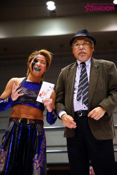 """Stardom: """"9th Anniversary in Osaka"""" Jamie Hayter se corona 6"""